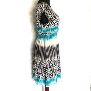 Cristinalove Dresses - Cristinalove Dress Black and White Cheetah Size XL